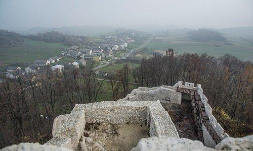 Widok z wieży