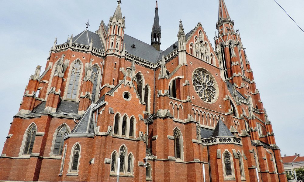 The Church of St Peter and St Paul, Osijek