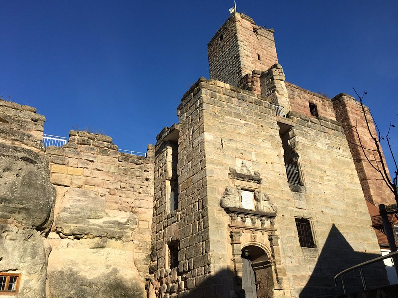 Eingangsbereich der Ruine