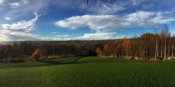панорамный снимок с холма Ангел Севера
