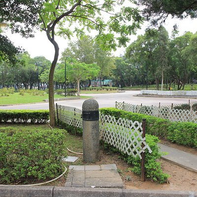 Tuen Mun Park.  Green along the river