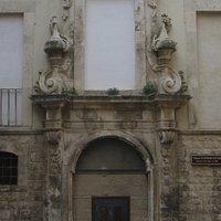 Portale d'accesso su largo Chiesa Vecchia