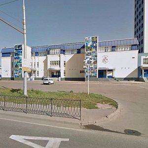 Фасад бизнес-центра со стороны проспекта Ямашева