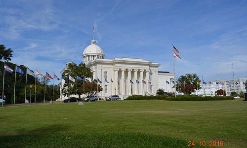 State Capitol Alabama
