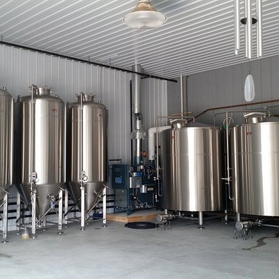 Glenmere Brewing Company's 15 bbl brewhouse - tour our 2000 sq ft facility while enjoying a pint
