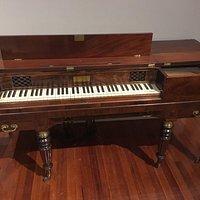 19th Century Alphaeus Babcock (Boston) Square Piano