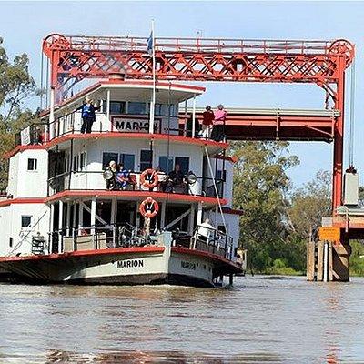 PS Marion Paringa Bridge