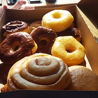 box full of do-nuts. They were really good.