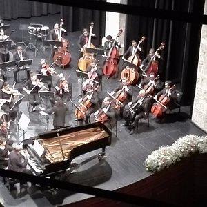 la orquesta sinfónica de Michoacan