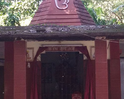 Temple near Jubilee Park.