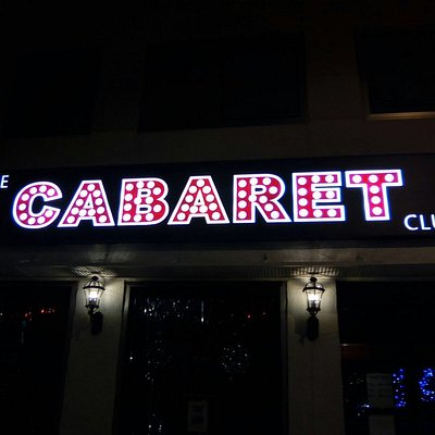 Come along & join us at The Cabaret Club