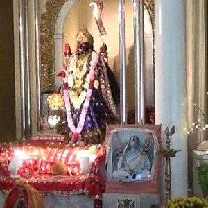 The idol of Ma Kali in WKT