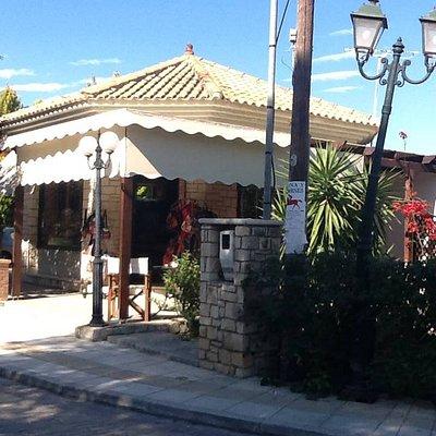 View from Akrotiri street corner
