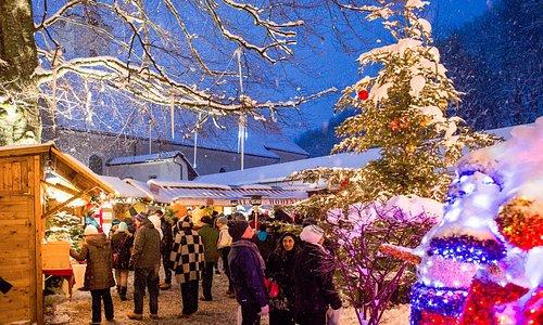 Winter Wonder World im Punschgarten im Palast.