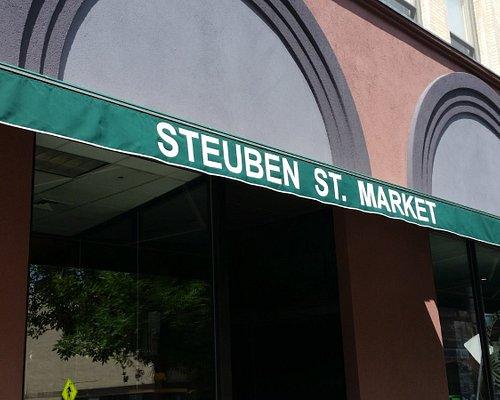 Steuben St. Market Entrance
