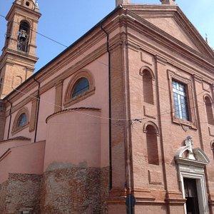 Розовая церковь Святого Розарио