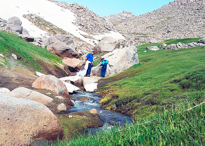 Alvand naturein spring, Hamedan, Iran