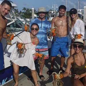 Had these couples on the boat a few days. Cannot wait till next year.