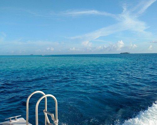 Vista llegando a San Andrés