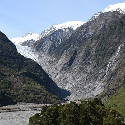 Franz Josef Glacier from Sentinel Rock Walk