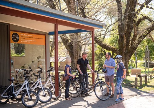 Hiring an eBike from Bright Electric Bikes is easy and fun.