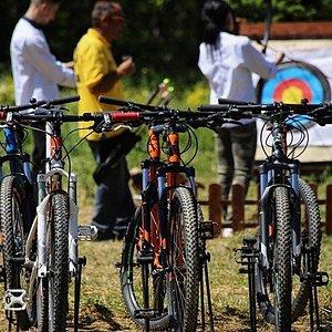 Biking and archery, Hania, Pelion