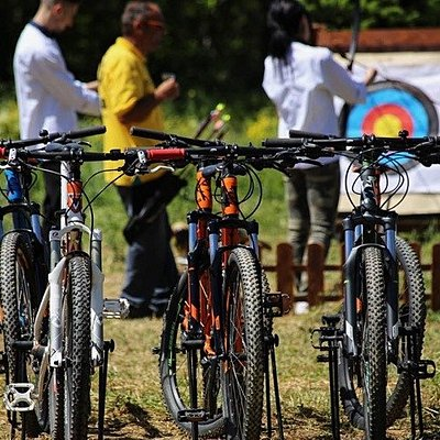 Biking and archery, Hania, Pelion