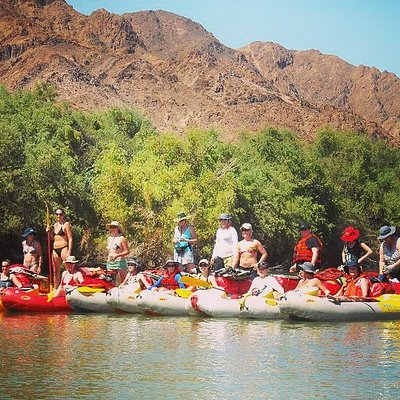 Orange River Rafting with Aquatrails
