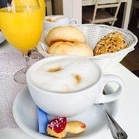Zu jedem Kaffee gibt es diesen süßen Fliegenpilz-Keks!