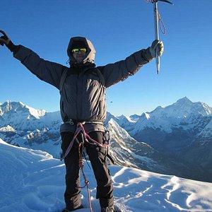 Climbing Mera peak with TT4FT