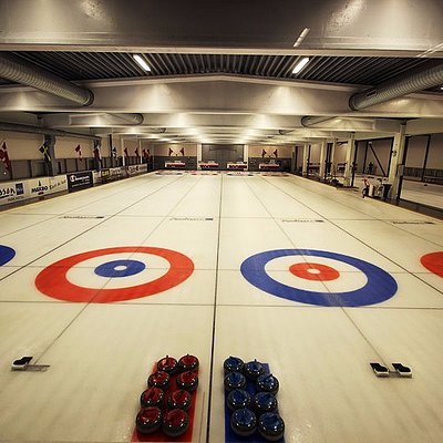 We can host small and big groups with our six sheets of curling ice
