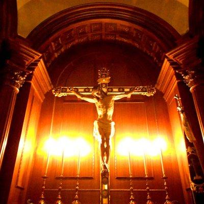 Escultura cristo crucificado