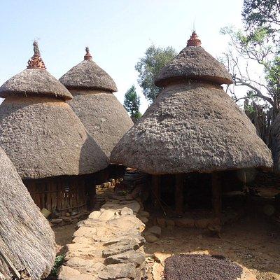 Konso huts