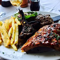 The mixed grill special