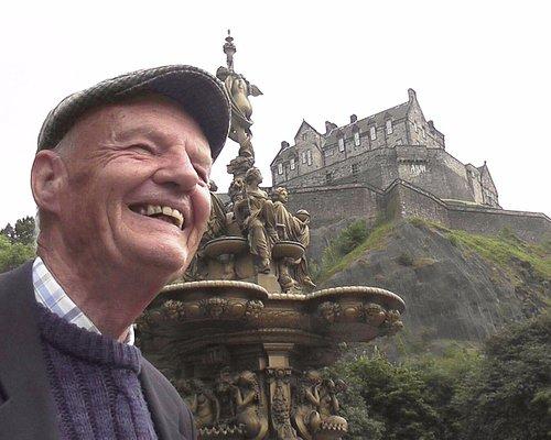 Stuart at Edinburgh Castle