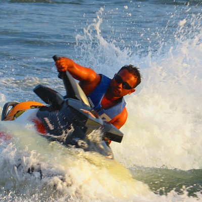 Jet skis are built for make you thrill and fun