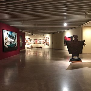 an inside view of the gallery