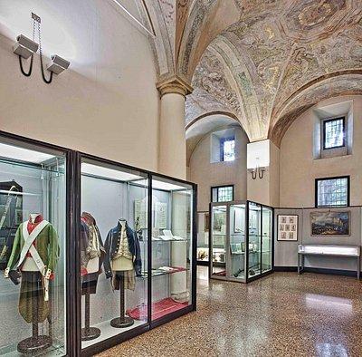 Museo civico del Risorgimento di Bologna, sezione 'Bologa nell'età napoleonica'.