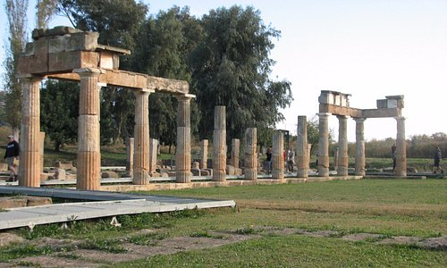Temple of Artemis Brauron on the site