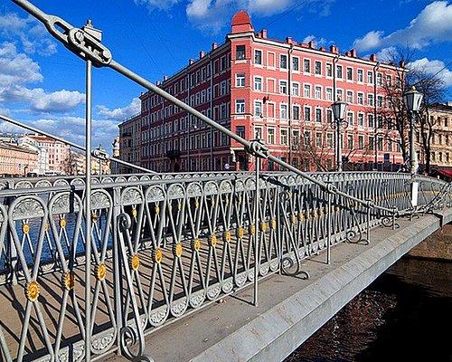 Lion's Bridge, St.Petersburg, Russia