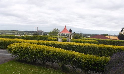 View to Huntly.