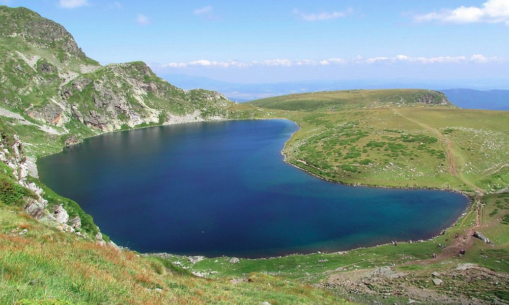 The Kidney Lake - one of the 7 Rila Lakes in Rila Mountains