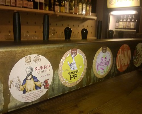 Fantastic seledtion of Dundulis Lithuanian beers.