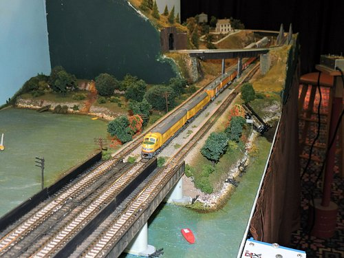Model Train at The Great American Train Show