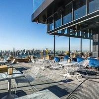 Westlight Patio Manhattan view