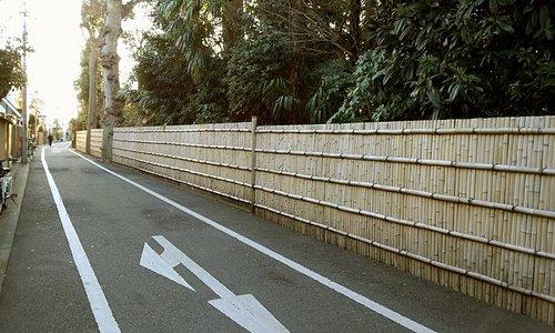 たきびの歌発祥の地の垣根|中野区