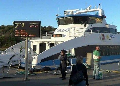 паромный терминал в Saltholmen
