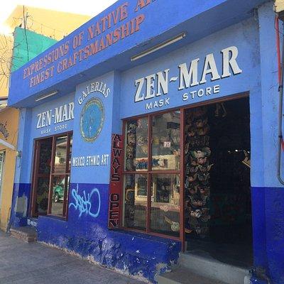 The front of Zen Mar Mask Gallery