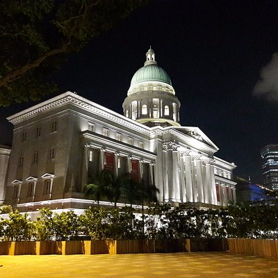 The City Hall Building & The Adjacent Ex-Supreme Court (with Dome)
