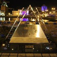 釧路の夜歌碑